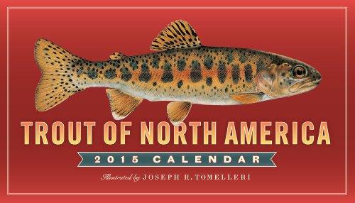 Trout of North America 2015 Calendar