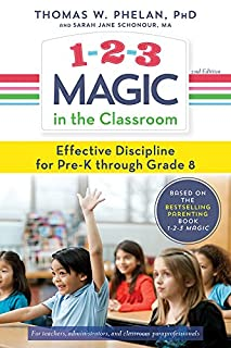 Book Cover: 1-2-3 magic in the classroom : effective discipline for pre-K through grade 8