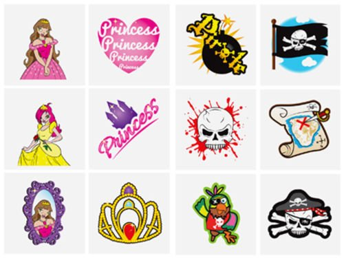 pirate-princess-childrens-temporary-tattoos-x-60-party-bag-filler-kids-toy
