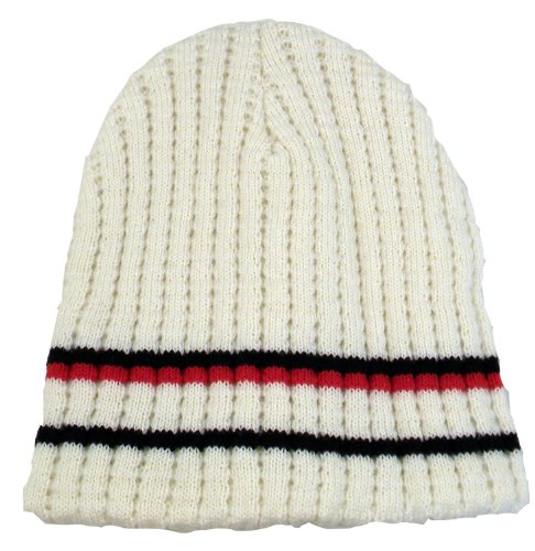 Wholesale 2 X Ribbed Knit Wool Acrylic Beanie For Skiing Snowboarding - Xmas Gifts