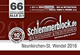 Schlemmerblock Neunkirchen-St. Wendel 2016 ~ ab Kauf bis 1.12.2016 gültig
