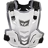 Fly Racing Pivotal Lite Adult Roost Guard Off-Road/Dirt Bike Motorcycle Body Armor - White / One Size