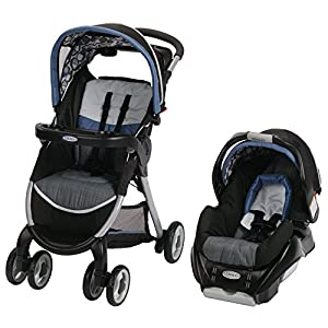 Graco Fastaction Fold Classic Connect Travel System, Necco