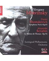 Chostakovitch: Symphony No.8; Scriabin: Le Poème de l'Extase