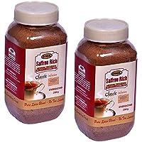 Gokul Saffron Rich Herbal Infusion Energizing Tea - 250g Bottle (2 Unit)