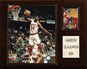 NBA Hakeem Olajuwon Houston Rockets Player Plaque by C&I Collectables