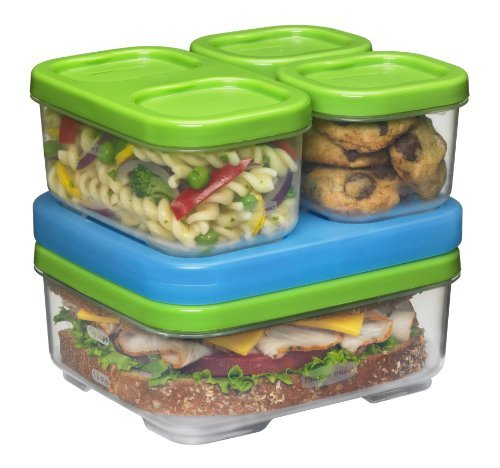 Rubbermaid Lunch Blox - Sandwich Kit Packagequantity: 1 Toy, Kids, Play, Children