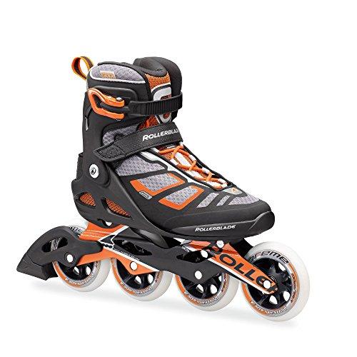 Rollerblade-1617-Macroblade-100-FitnessWorkout-Skate-with-100mm-Wheels-BlackOrange-US-Size-95