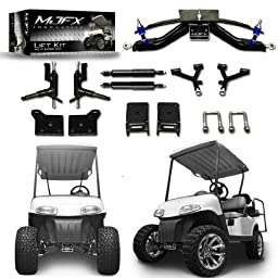 Golf Cart Lift Kit 6\'\' A-Arm will fit E-Z-Go RXV Electric Golf Carts by Madjax