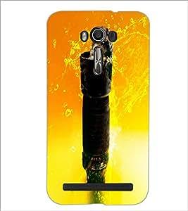 PrintDhaba Kitty D-2849 Back Case Cover for ASUS ZENFONE 2 LASER ZE550KL (Multi-Coloured)