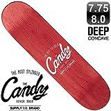 """【CANDY】""""CLASSIC LOGO"""" SKATEBOARD DECK 7.75x31.25 CANDY チームモデル スケートボード スケボー デッキ"""