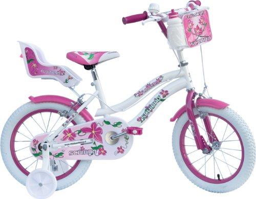 SCHIANO Bicicletta Girl 14 Flowers Donna 01V. Bianco 049