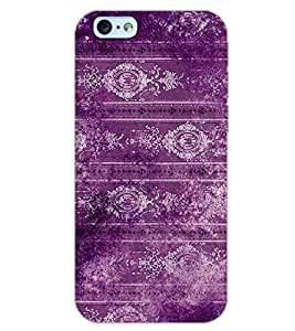 PrintDhaba MAGENTA PATEERN D-6791 Back Case Cover for APPLE IPHONE 6 (Multi-Coloured)
