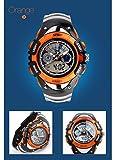 ALPS Kids LED Digital Boys Waterproof Watches (Orange)