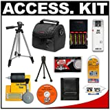Cameta Bonus Accessory Kit for Canon Powershot S2 IS, S3 IS, S5 IS & SX100 IS Digital Cameras ~ Cameta Camera