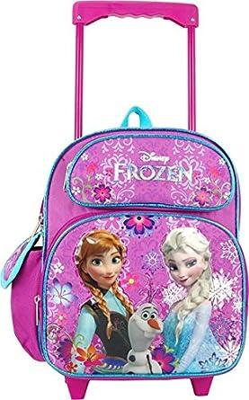 "Amazon.com: Disney Frozen 12"" Toddler Rolling Backpack"
