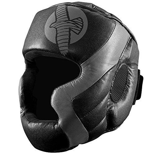 Hayabusa Fightwear Tokushu Regenesis MMA Headgear - Black/Grey - One Size (Mma Gear Hayabusa compare prices)