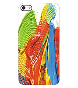 ColourCraft Colourful Design Back Case Cover for APPLE IPHONE 4S