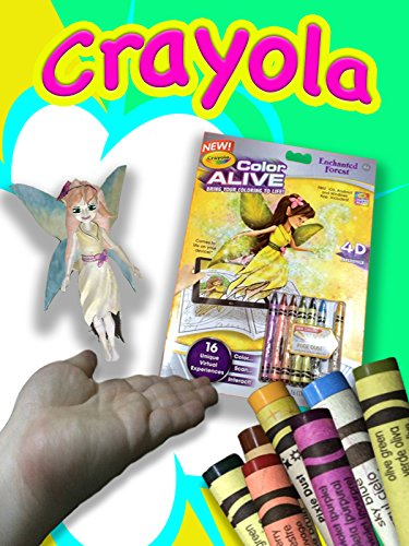 3D Fairy in Your Hand - Crayola Color Alive