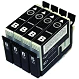 4 Pack Non-OEM T126120 ink cartridge SCIS (Sub-cartridge Ink System)