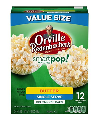 Orville Redenbacher's Butter Mini Bags, 12 Count (Pack of 6) (Light Butter Popcorn compare prices)