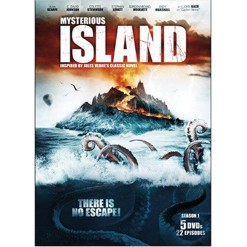 Amazon.com: Mysterious Island: Alan Scarfe, C. David Johnson, Colette