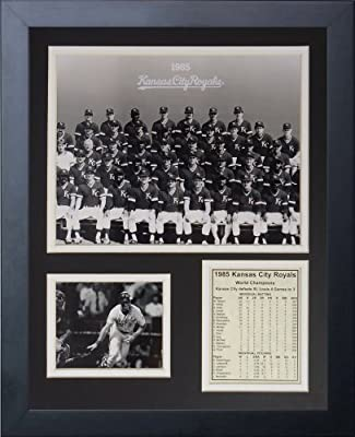Legends Never Die 1985 Kansas City Royals Team Framed Photo Collage, 11x14-Inch