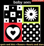 Chez Picthall BABY SEES SHAPES BOXED SET: Spots and Dots, Flowers, Hearts and Stars