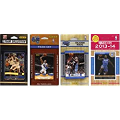 NBA Orlando Magic 4 Different Licensed Trading Card Team Sets by C&I Collectables