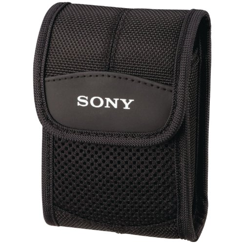 Sony Lcs-Cst General Purpose Soft Carrying Case For Slim Cybershot Digital Cameras front-602019