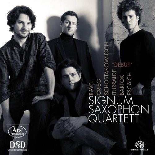 SACD : Signum Saxophonquartett - Debut (Hybrid SACD)