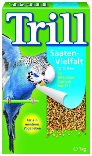 Trill Saaten-Vielfalt für Sittiche, 2er Pack