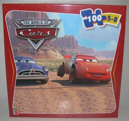 Cheap Mattel Disney Pixar Cars 100 Piece Puzzle – McQueen with Doc Hudson (B002PKLAR0)