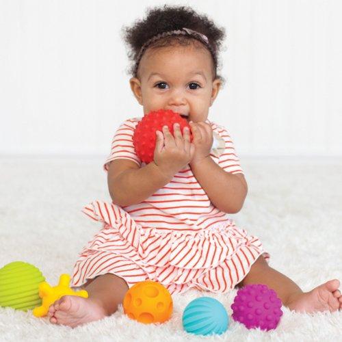 销量冠军, Infantino Textured 宝宝多功能玩具球 6件套图片