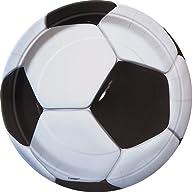 Soccer Dessert Plates, 8ct