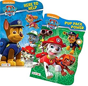 Amazon.com : PAW Patrol Board Book Set (2 Shaped Board Books) : Baby