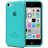 Fosmon DURA-FRO Ultra SLIM-Fit Case Flexible TPU Cover for New Apple iPhone 5C (2013) - Teal