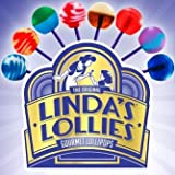 Linda's Lollies Gourmet Lollipops 48 Count Box - Nut, Gluten & Dairy Free - No Fat