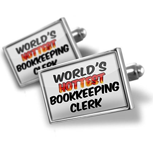 Cufflinks Worlds hottest Bookkeeping Clerk – Neonblond
