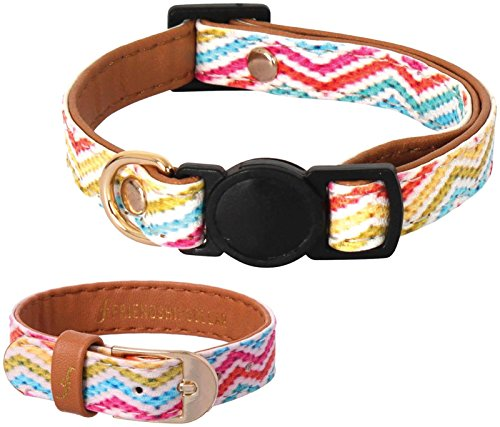 Friendshipcollar Cat Collar - Chatty Catty - One Size Fits All