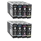 YouPrint 8 Compatible Ink Cartridges For Epson Workforce Pro WF4630DWF WF4640DTWF WF5110DW WF5190DW WF5620DWF WF5690DWF