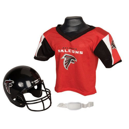 BSS - Atlanta Falcons Youth NFL Helmet and Jersey Set at Amazon.com