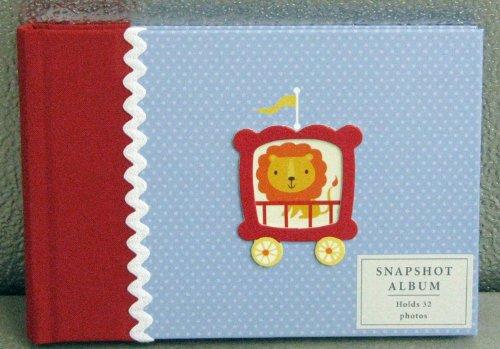 Hallmark Baby BBA3881 Circus 4 X 6 Slim Snapshopt Photo Album - 1