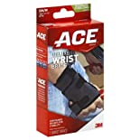 ACE TekZone Antimicrobial Deluxe Wrist Brace, Right, SM/MD