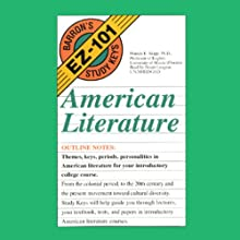 Barron's EZ-101 Study Keys: American Literature (       UNABRIDGED) by Francis E. Skipp Narrated by Stuart Langton