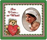 Am I Cute?or What! Valentine Magnet Photo Frame Gift
