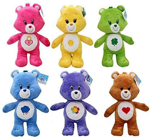 [Care Bears 17 Inch Plush Bears - Set of 6] (Care Bear Plush)