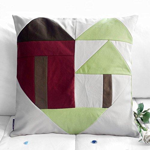 modernen Stil dekorative Kissen mit Einsatz Sofa / Bett Kissen, 48 * 48 cm -