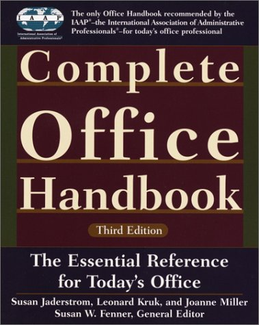 Complete Office Handbook: Third Edition