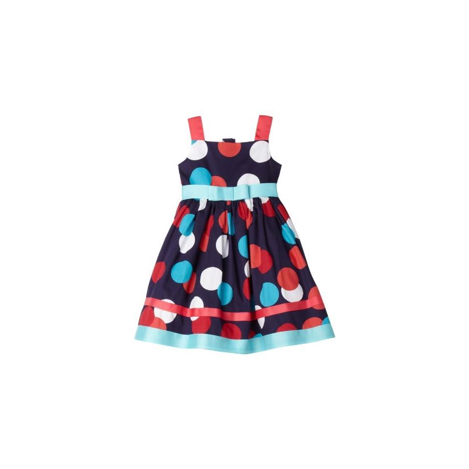 Sweet Heart Rose Little Girls Polka Dot Dress